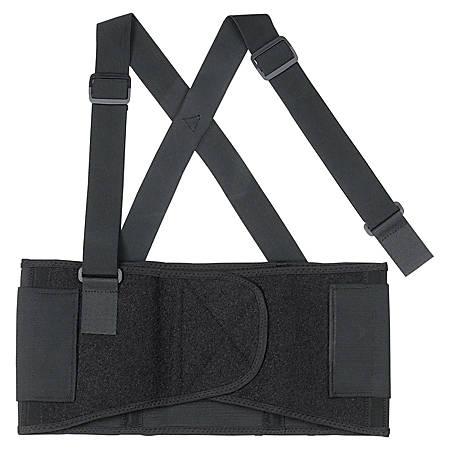 R3® Safety All-Elastic Back Support, Large, Black