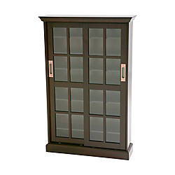 sliding door media cabinet southern enterprises sliding door media cabinet espresso 26228