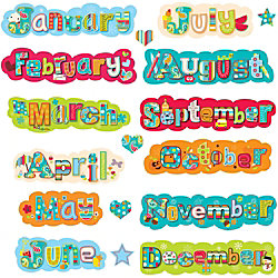Creative Teaching Press Dots On Tuquoise Months Of The Year