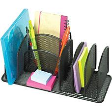 Safco Onyx Deluxe Steel Desktop Organizer