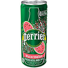Perrier Flavored Sparkling Mineral Water Watermelon