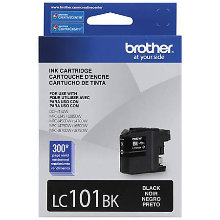 Brother® LC101BKS Black Ink Cartridge
