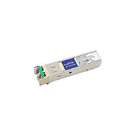 AddOn Fujitsu FC9570AABC Compatible TAA Compliant 1000Base-DWDM 100GHz SFP Transceiver (SMF, 1549.32nm, 80km, LC, DOM)
