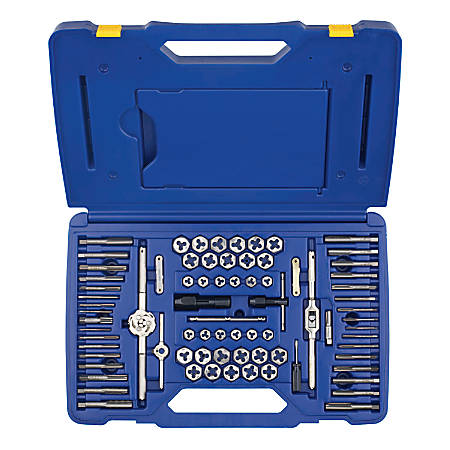 IRWIN Metric Tap and Hex Die Set, 53 Pieces