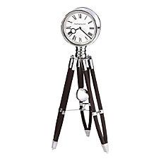 FirsTime Co Tripod Pendulum Clock ChromeEspresso