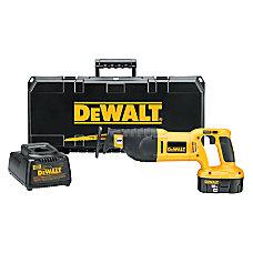 DeWalt 18V Cordless Reciprocating Saw Kit