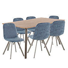 Lumisource Sedona Industrial Dining Table With