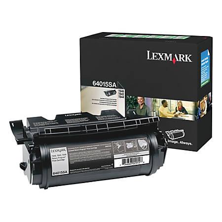 Lexmark™ 64015SA Return Program Black Toner Cartridge