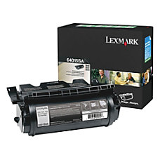 Lexmark 64015SA Return Program Black Toner