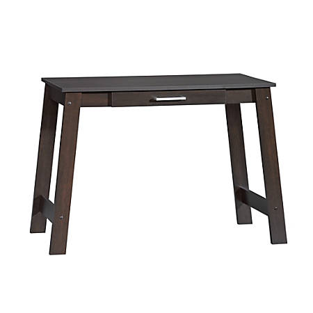 Jok Table.Sauder Beginnings Writing Table Cinnamon Cherry Office Depot