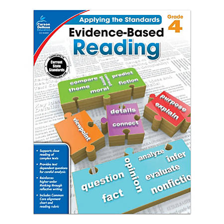 Carson-Dellosa™ Evidence-Based Reading Workbook, Grade 4