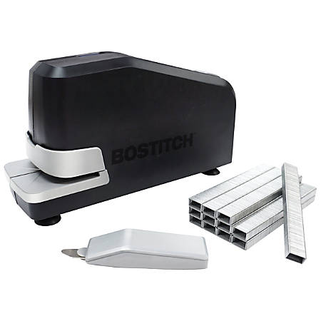 Bostitch® Impulse™ 25 Electric Stapler With Staples And Staple Remover, Black