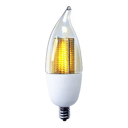 Euri CA9.5 Non-Dimmable 50 Lumens LED Light Bulb, 1 Watt, 2200 Kelvin/Glow White
