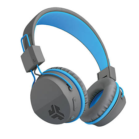 JLab Audio Intro Bluetooth® Over-The-Ear Headphones, Blue, HBINTRORBLU4