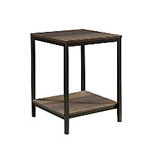 Sauder North Avenue Side Table Rectangular