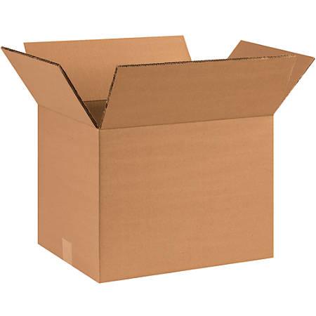 "Office Depot® Brand Double-Wall Heavy-Duty Corrugated Cartons, 14"" x 10"" x 10"", Kraft, Box Of 15"