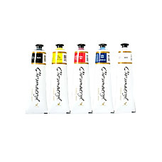 Chroma Chromacryl Students Acrylic Paint Set