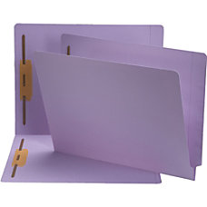 Smead End Tab Color Fastener Folders