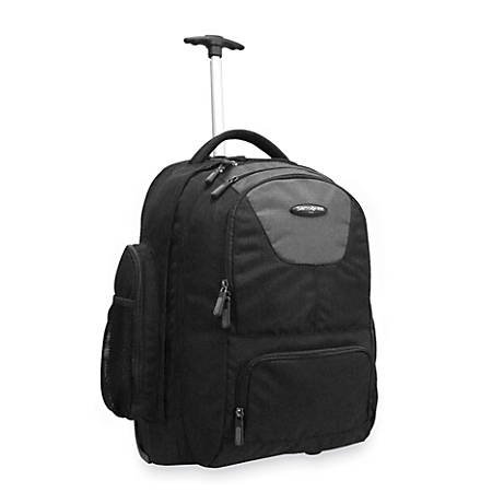 Samsonite® Wheeled Backpack, Charcoal/Black