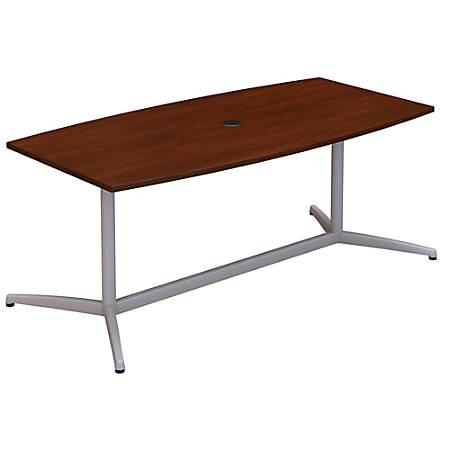 Bush Business Furniture W X D Boat Shaped Conference Table - Boat shaped conference table dimensions