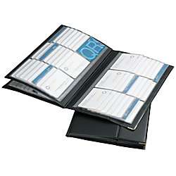Rolodex vinyl business card holder 192 card capacity black by office rolodex vinyl business card holder 192 card capacity black colourmoves
