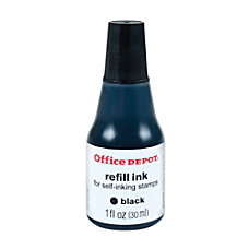 Office Depot Brand Self Inking Refill