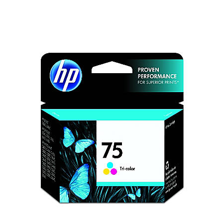 HP 75, Tricolor Original Ink Cartridge (CB337WN)