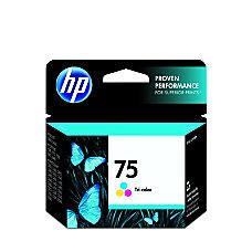 HP 75 Tricolor Original Ink Cartridge