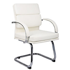 Boss CaressoftPlus Guest Chair White