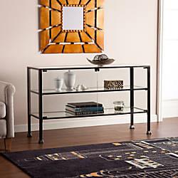 Southern Enterprises Terrarium Display Curio Cabinet
