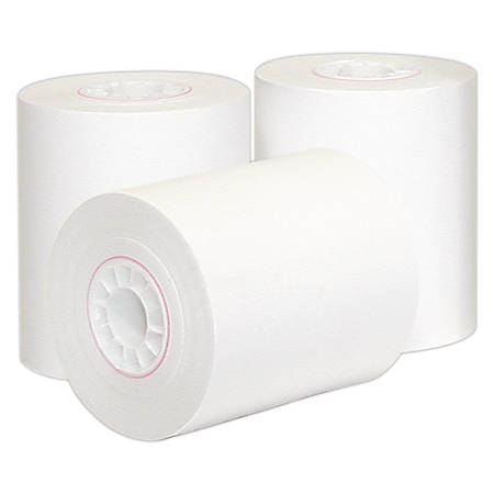 """Office Depot® 1-Ply Paper Roll, 2 1/4"""" x 150"""", White"""