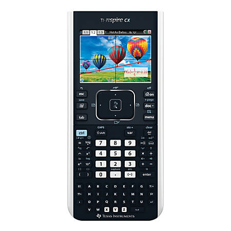 Texas Instruments® TI-Nspire™ CX Graphing Calculator