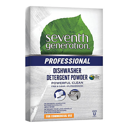 Seventh Generation™ Professional Free And Clear Natural Automatic Dishwasher Powder, 75-Oz Box
