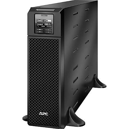 APC by Schneider Electric Smart-UPS SRT 5000VA 208V - Tower - 1.50 Hour Recharge - 208 V AC Input - 208 V AC Output - 2 x NEMA L6-20R, 2 x NEMA L6-30R