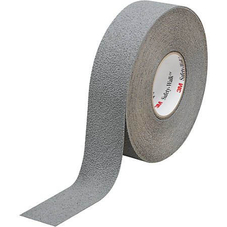 "3M™ 370 Safety-Walk Tape, 3"" Core, 2"" x 60', Gray, Pack Of 2"