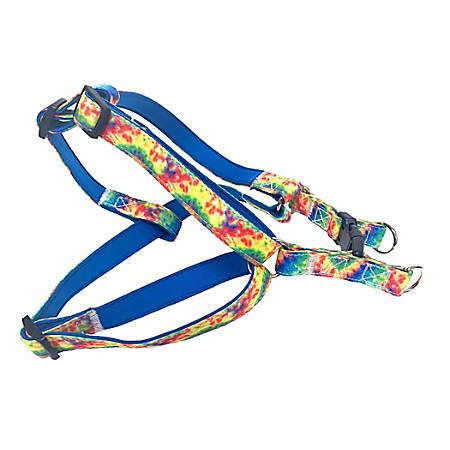 Executive Pup Dog Harness, Medium/Large, Tie Dye