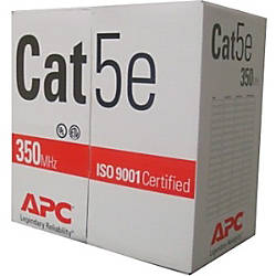 APC Cables 1000ft Cat5e UTP PVC