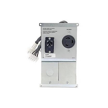 APC - Symmetra RM Power Backplate - 1, 1 x NEMA L6-30R, Hard Wire 3-wire (2PH + G) Female