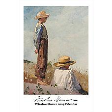 Retrospect Monthly Wall Calendar Winslow Homer