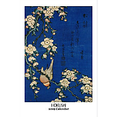 Retrospect Monthly Wall Calendar Hokusai 19