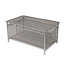 Mind Reader Platform Top Storage Basket