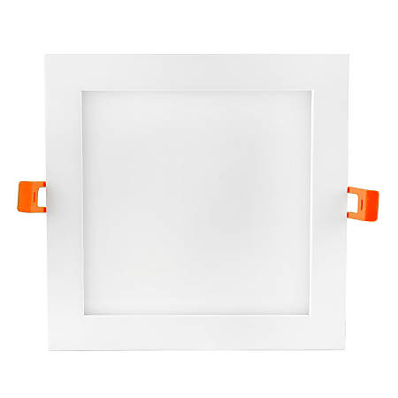 "Luminoso LED 6"" Square Panel Fixture, Dimmable, 3,000 Kelvin, 15 Watt, 1,032 Lumens"