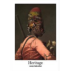 Retrospect Monthly Wall Calendar Heritage 19
