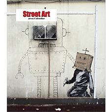 Retrospect Monthly Desk Calendar Street Art