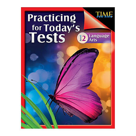 Shell Education TIME For Kids: Practicing For Today's Tests Language Arts, Level 2, Grade 2