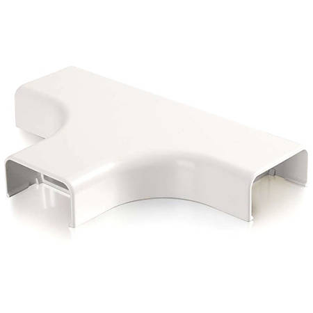 C2G Wiremold Uniduct 2900 Bend Radius Compliant Tee - White