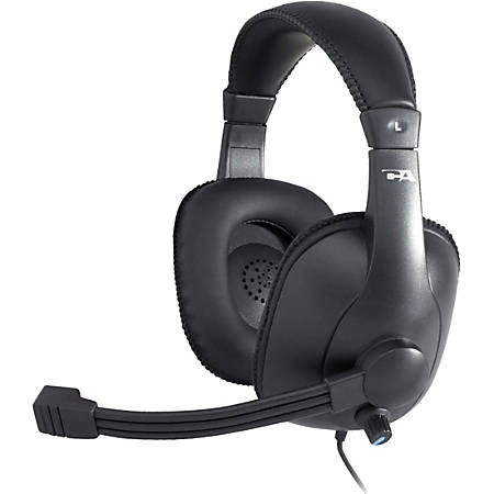 Cyber Acoustics Pro Grade Stereo Headset and Boom Mic