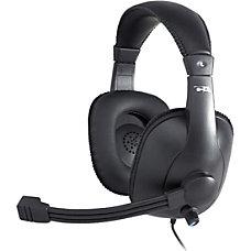 Cyber Acoustics Pro Grade Stereo Headset