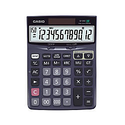Casio Check Correct Desk Calculator 137