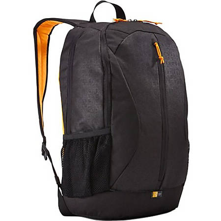 "Case Logic Ibira IBIR-115 Carrying Case (Backpack) 16"" Notebook - Black - Polyester - Shoulder Strap - 17.3"" Height x 12.6"" Width x 10.2"" Depth"